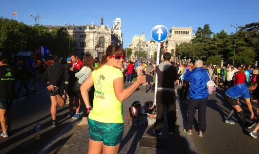 "MARATÓN DE MADRID – TRIPLE ""M"""
